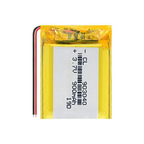 ahjs457 Batería Recargable de polímero de Litio de 3.7v 900mAh 903040 con PCB para Tableta GPS DVD Pad Mid Camera Power Bank