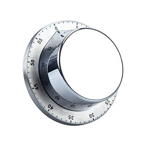 Canjerusof Temporizador de Cocina de 60 Minutos Momento Fuerte Alarma magnética Temporizador de Cuenta Regresiva (1pack)