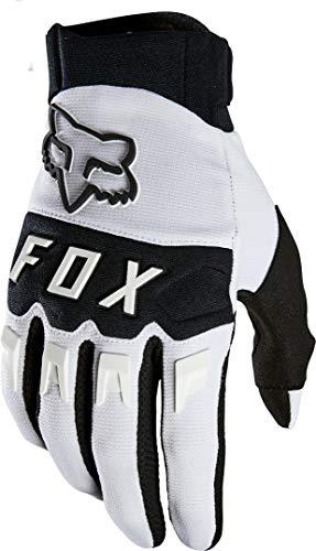 Fox Racing メンズ DIRTPAW モトクロスグローブ ホワイト/ブラック L