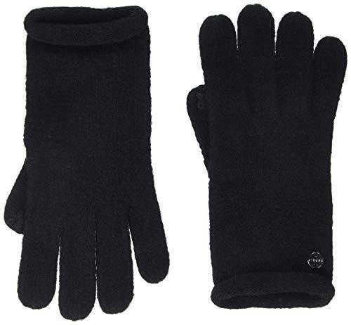 ESPRIT Accessoires Damen 128EA1R002 Handschuhe, Schwarz (Black 001), One Size (Herstellergröße: 1SIZE)
