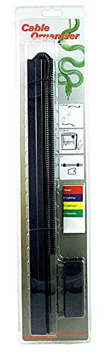 Lucky Reptile Cable Organiser 50 cm,- bringt Ordnung in alle Strom kabel von HiFi, Computer, Fernseher und vielen mehr