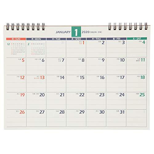 能率 NOLTY 2020年 カレンダー 卓上 21 B6 C214 ([カレンダー])