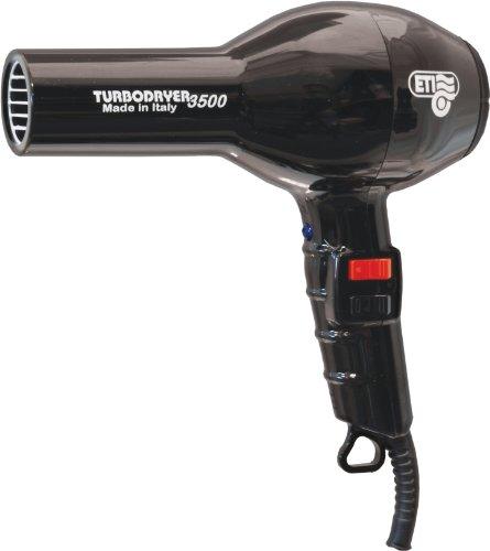 ETI Turbodryer 3500 Professional Salon Hair Dryer - Black