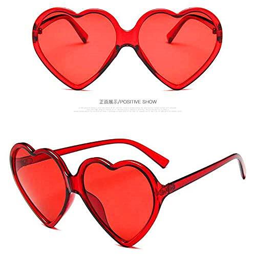 XDOUBAO Gafas Gafas de tinta gafas gafas amor gafas-Vino rojo