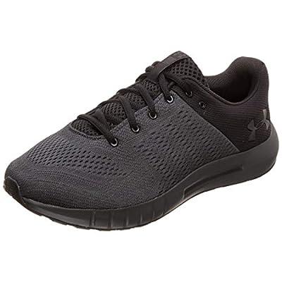 Under Armour mens Micro G Pursuit Running Shoe, Anthracite (104)/Black, 13