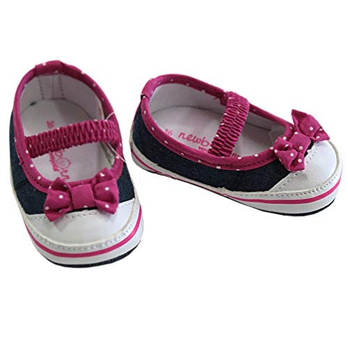 Mayoral - Zapatos de bebé para niña, diseño de lunares blancos, color, talla 16 EU