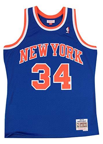 Mitchell And Ness Oakley Royal Knicks Replica Jersey Royal XXL
