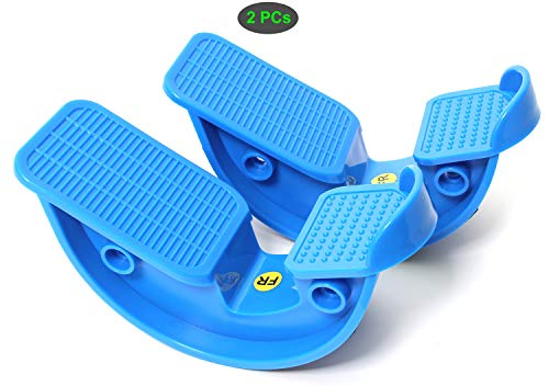 Todo Wadenstrecker zur Schmerzlinderung und Muskeldehnung, 2 Stück, blau, compact