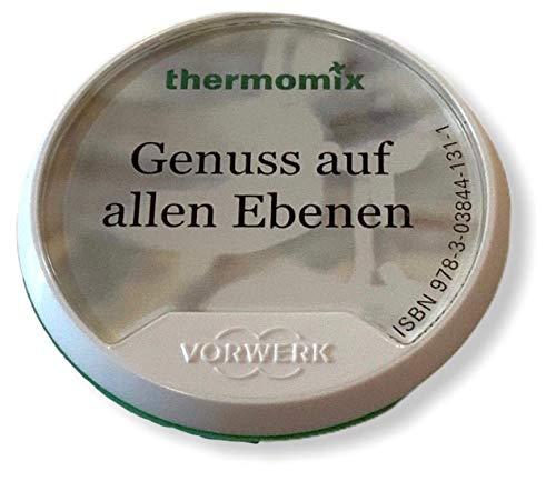 Original Vorwerk Thermomix TM5 Rezept Chip Rezeptchip Genuss auf allen Ebenen Varoma Dampfaufsatz