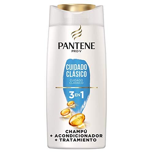 Pantene Pro-V Cuidado Clásico Champú, Acondicionador y Tratamiento 3 en1, Pelo de Aspecto Sano y Brillante, 675 ml