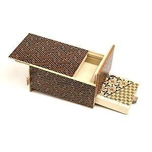 Japanese Puzzle Box 5sun 7+1steps with Drawers Kurosaya