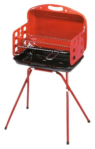 barbecue ompagrill OMPAGRILL 47167 BARBECUE CARBONE BOY-ECO 48X34