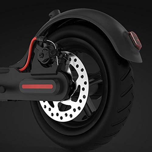 FOLOSAFENAR Neumático de Rueda Trasera Resistente Fácil instalación y desmontaje Prevención de explosiones Buena flexibilidad, para Xiaomi Mijia M365 Scooter eléctrico