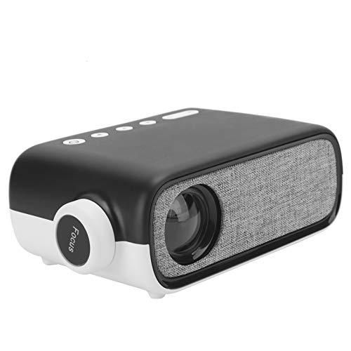 Heayzoki Mini proiettore, videoproiettore Portatile per Bambini Presenti, Video, Film, Compatibile con HDMI e USB , 480 x 272 YG280 110‑240 V(EU)