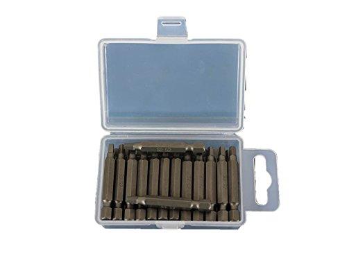Temo 25 PC # 2 Square Robertson 2 pulgadas (50 mm) Destornillador Insertar Bits