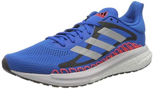 adidas Glide ST M, Zapatillas para Correr Hombre, Football Blue/Silver Met./Solar Red, 46 EU