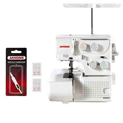 Janome 8002D is our top premium pick for Serger sewing machine