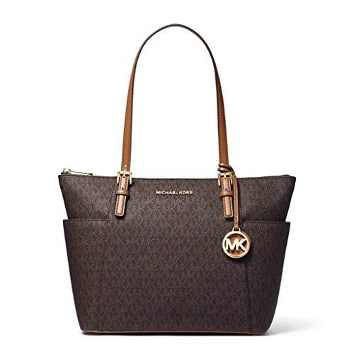 "Large sized bag; 16""W x 10""H x 4-1/2""D; 12""L handles Silver-tone hardware & 2 slip pockets 1 interior zip pocket & 2 slip pockets Leather"