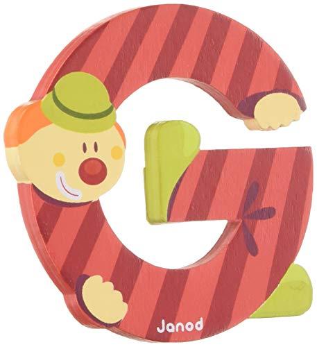 Janod - J04548 - Figurine - Clown Letter G