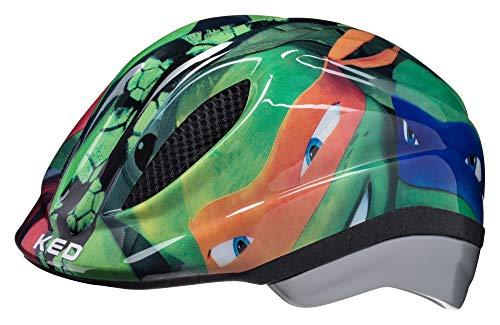 KED Meggy Originals M Turtles - 52-58 cm - inkl. RennMaxe Sicherheitsband - Fahrradhelm Skaterhelm MTB BMX Kinder Jugendliche
