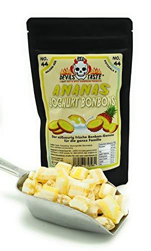 Fruchtige Ananas Joghurt Bonbons - mild - 200g - Hotskala: 0
