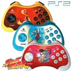 New Ps2 Street Fighter 15th Anniversary Controller Playstation