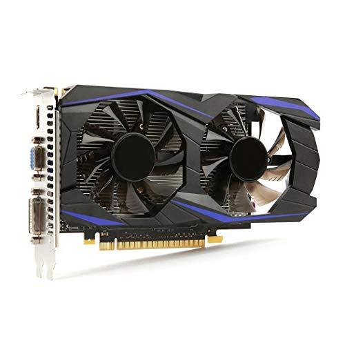 Oldhorse Tarjeta Grafica GeForce GTX 960 4G DDR5 128Bit Graphics Card para Gaming Videojuegos Accesorios de informática
