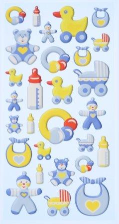 CREApop® Softy-Stickers Babyboy