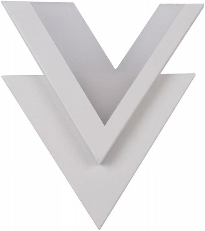 ZHANG NAN ●  Moderne, minimalistische LED-Wandleuchte Stilvolle, individuelle V-Wandleuchte ●