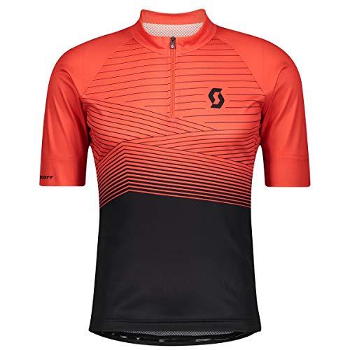 Scott Endurance 20 Fahrrad Trikot kurz rot/schwarz 2021: Größe: M (46/48)