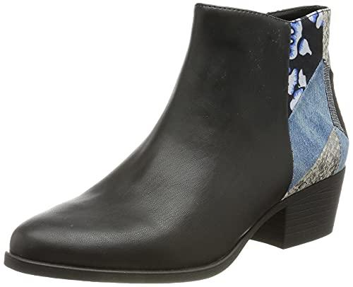 Desigual Shoes_Dolly_Patch, Barca ad Ancora. Donna, Nero, 36 EU