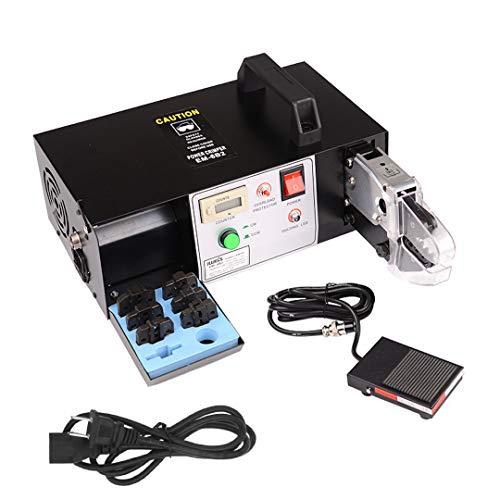アイウィス(IWISS) 電動式圧着工具 卓上型 オープンバレル 裸端子 絶縁被覆圧着端子 フェルール端子 用マルチ圧着機 EM-6B1