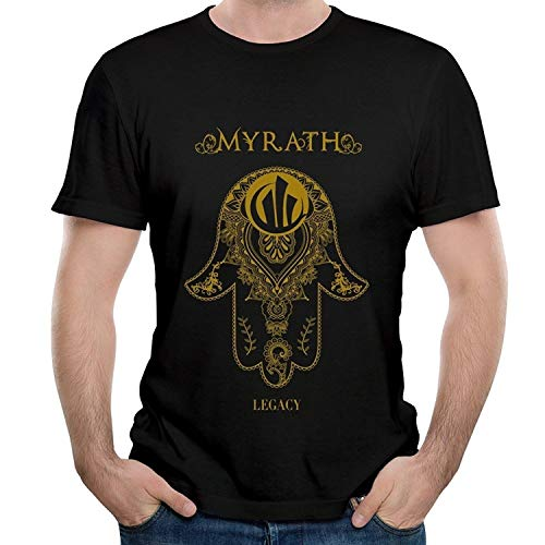 Men's Band Myrath Seven Sins Song Short Sleeve Tee Shirt
