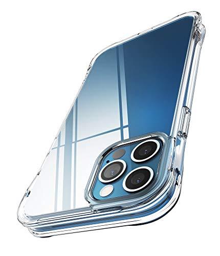 Ringke Cover Fusion Plus Compatibile con iPhone 12 e Compatibile con iPhone 12 PRO, Custodia Paraurti Antiurto - Clear Trasparente