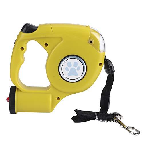 SALUTUYA Cuerda de tracción para Mascotas, tamaño pequeño, cómodo de Usar, Cuerda de Entrenamiento para Perros(Yellow)