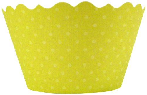 Bella Couture Chartreuse Cupcake Wrappers