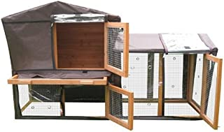 Bunny Business Hutch Cover for Grove