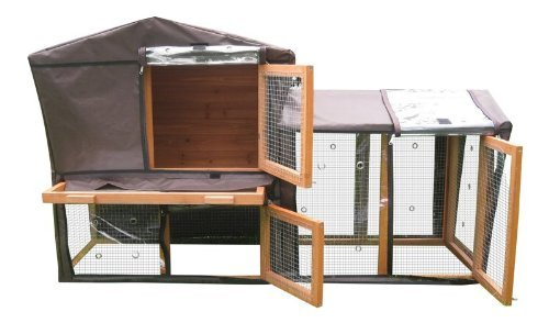 Thermal Cover for Rabbit Hutch