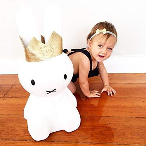 Kaninchen-Nachtlicht mit dimmbarer Tischlampe, 50 cm/80 cm, Babyzimmer, Schlafzimmer, Schlaflicht, Dekoration, Spielzeug, Geschenk, Knob Way, 25*25*50CM