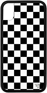 checkered iphone xr case