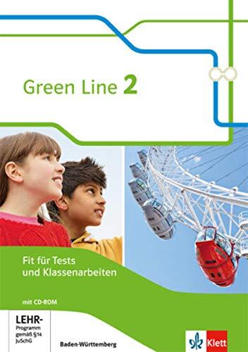 Green Line 2. Ausgabe Baden-Württemberg: Fit für Tests und Klassenarbeiten, Arbeitsheft mit Lösungsheft und Mediensammlung Klasse 6 (Green Line. Ausgabe für Baden-Württemberg ab 2016)