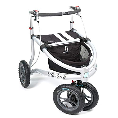 Rollator Veloped Sport 12er M schwarz/weiß/weiß