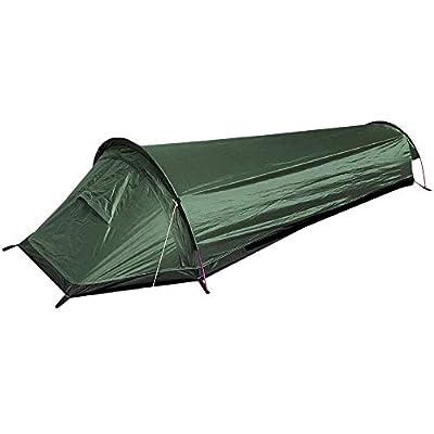 ROCOTACTICAL Ultralight Bivvy Bag Tent, Camping Bivy Sacks, Compact Single Person Backpacking Bivy Tent Military - 100% Waterproof Sleeping Bag Cover Bivvy Sack for Outdoor Survival, Bushcraft