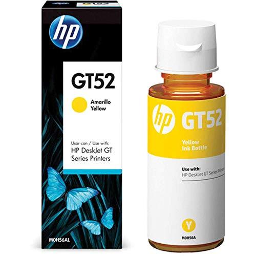 Garrafa HP GT52 Amarela original - (M0H56AL)