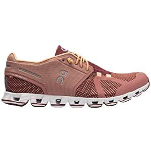 On Running Womens Cloud Mesh Dustrose Mulberry Trainers 7 US