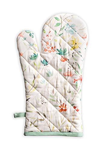Maison d#039 Hermine Colmar 100% Cotton Oven Mitt 75  inch by 13  inch