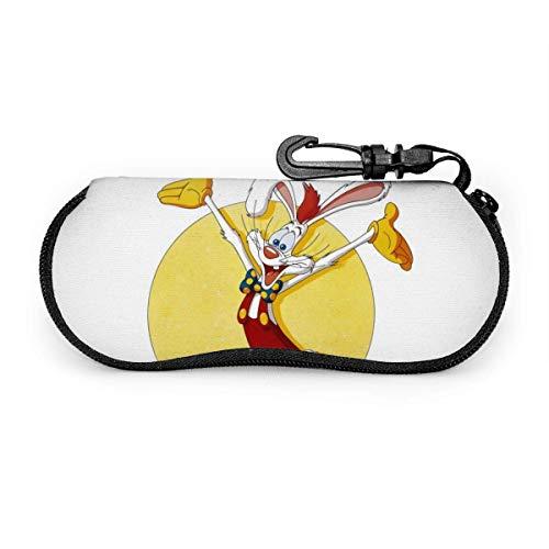 Brillenetui, ONE Piece Tragbare Reisebrillenetuis mit Reißverschluss und Lesebrillen im Schutzset