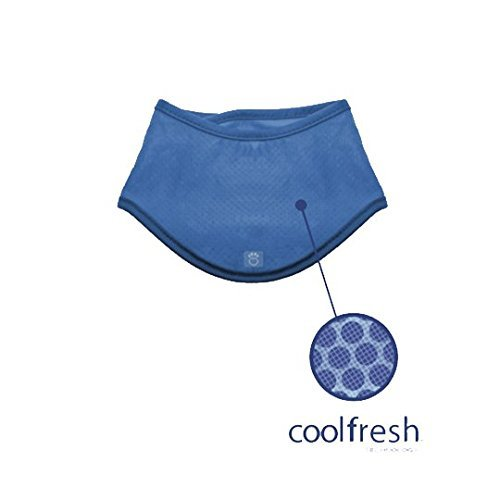 Go Fresh Pet Ice Band Cooling Bandana for Dogs (S/M)