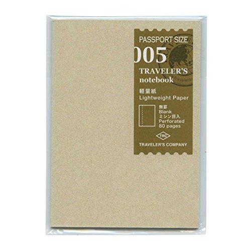 Traveler's notebook Passport size Refill lightweight paper [ 14371006 ]