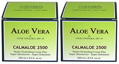 Canarias Cosmetics Calmaloe 2500 Crema Hidratente 250ml - 2 unidades